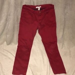 Forever 21 Red jeans
